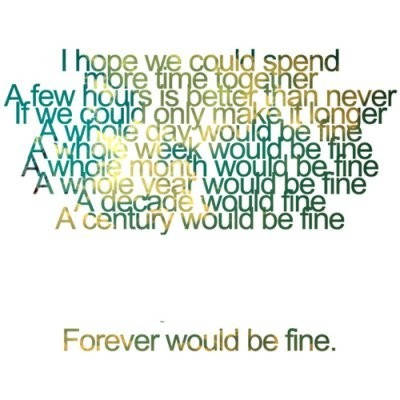Forever with you quotes