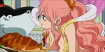 Princess Shirahoshi and Luffy4
