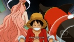 Princess Shirahoshi meets Luffy12