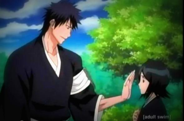 Bleach rukia and kaien