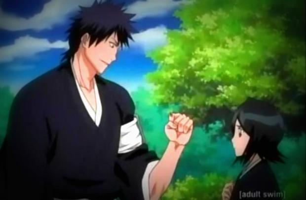 Bleach rukia and kaien2