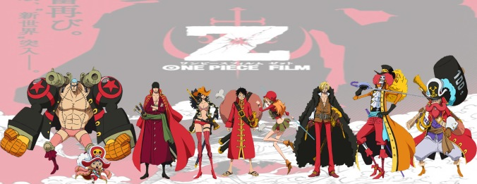One Piece Movie Z_ Straw hats pirates