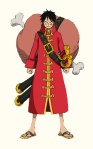 One Piece Movie_Z_Luffy in Red