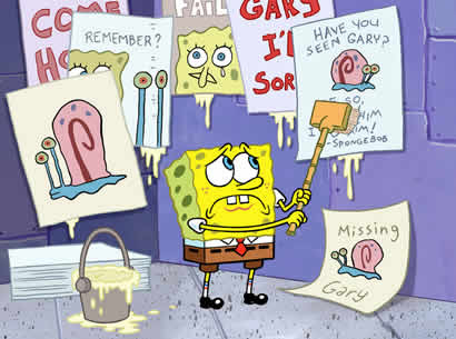 MISSING GARY_SPONGEBOB