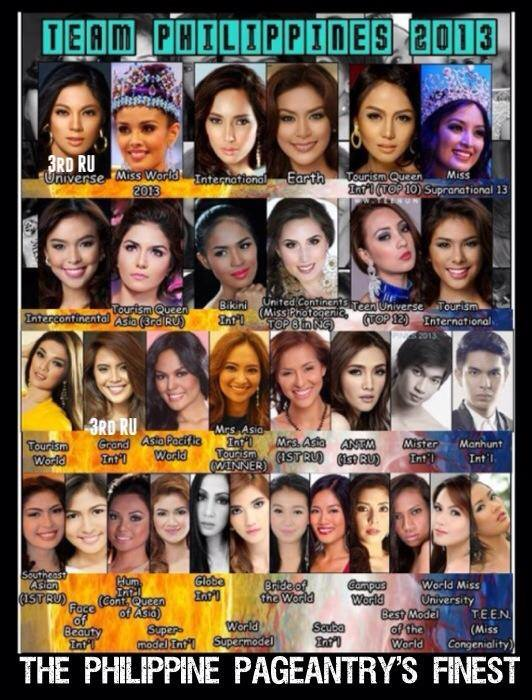 2013 2013 philippines beauty queens