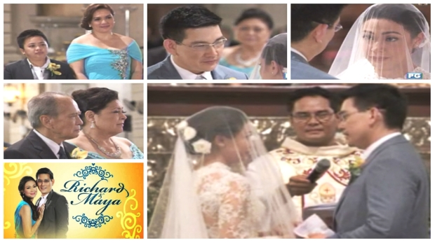 maya and sir chief wedding collage