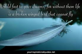 dreams and feathers quote