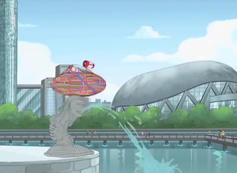 merlion_phineas and ferb