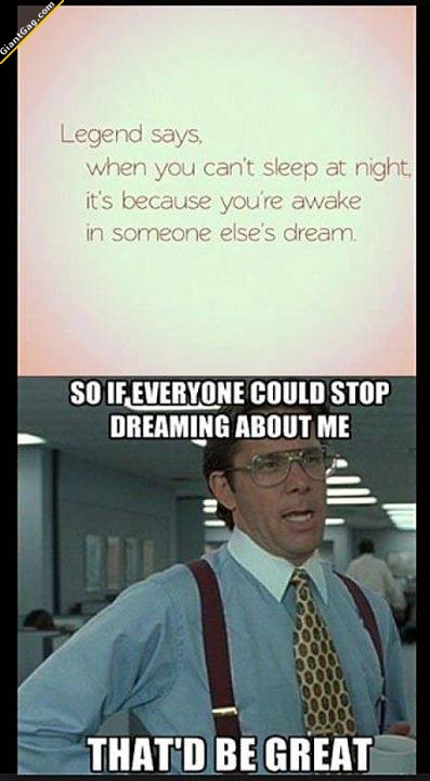 Stop Dreaming About Me