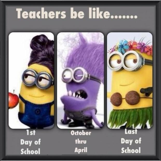 Teachers Be Like Minions
