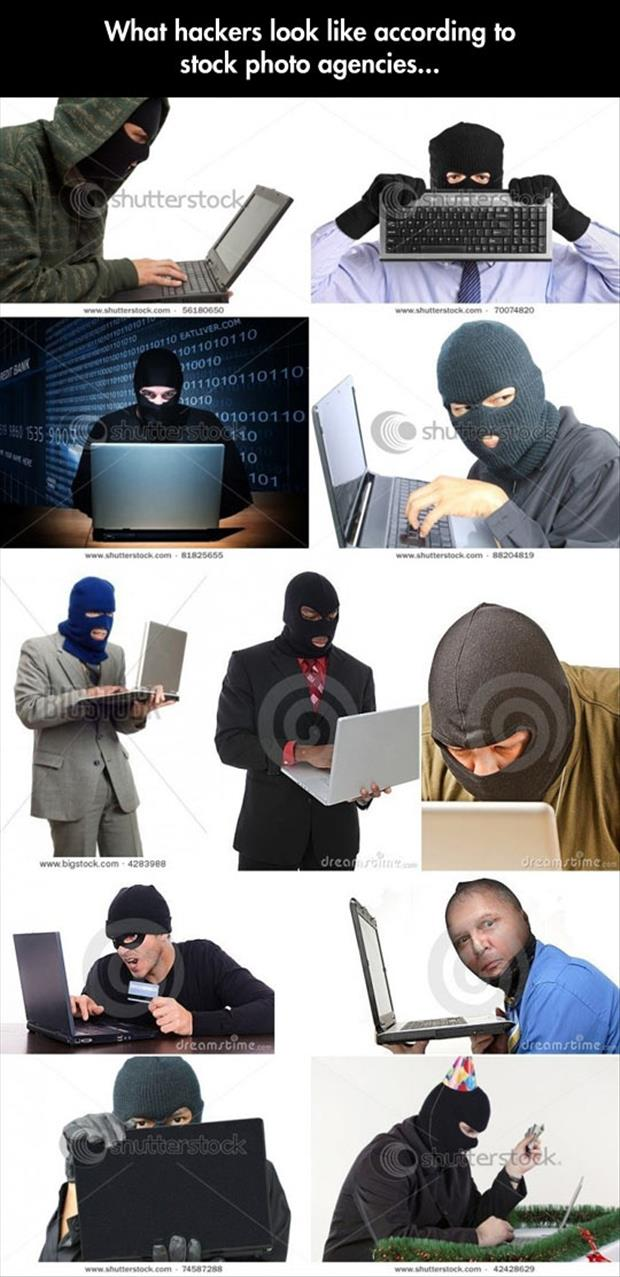 What Hackers Lok Like According To Stock Photo Agencies