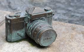 old nikon camera