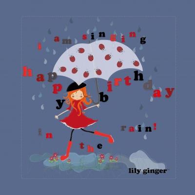 singing happy birthday on the rain