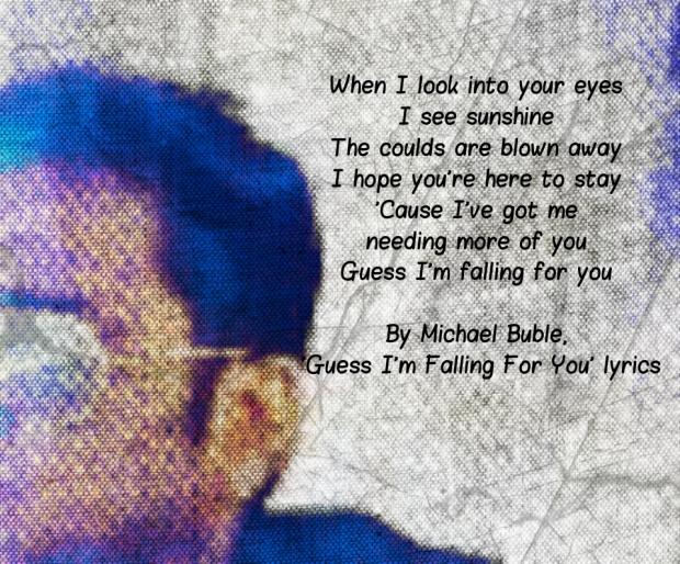 I guess I'm falling for u