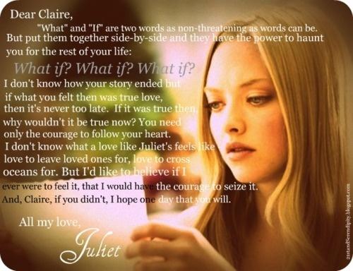 Juliet's letter