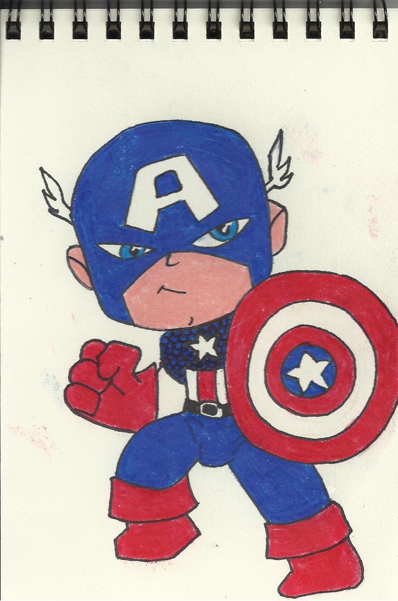 лень капитан америка картинка раскраска цветная время, данным сми